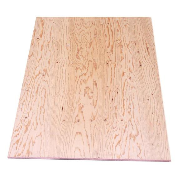 Unbranded Sheathing Plywood Structural 1 Common 15 32 In X 4 Ft X 8 Ft Actual 0 438 In X 48 In X 96 In 654684 The Home Depot