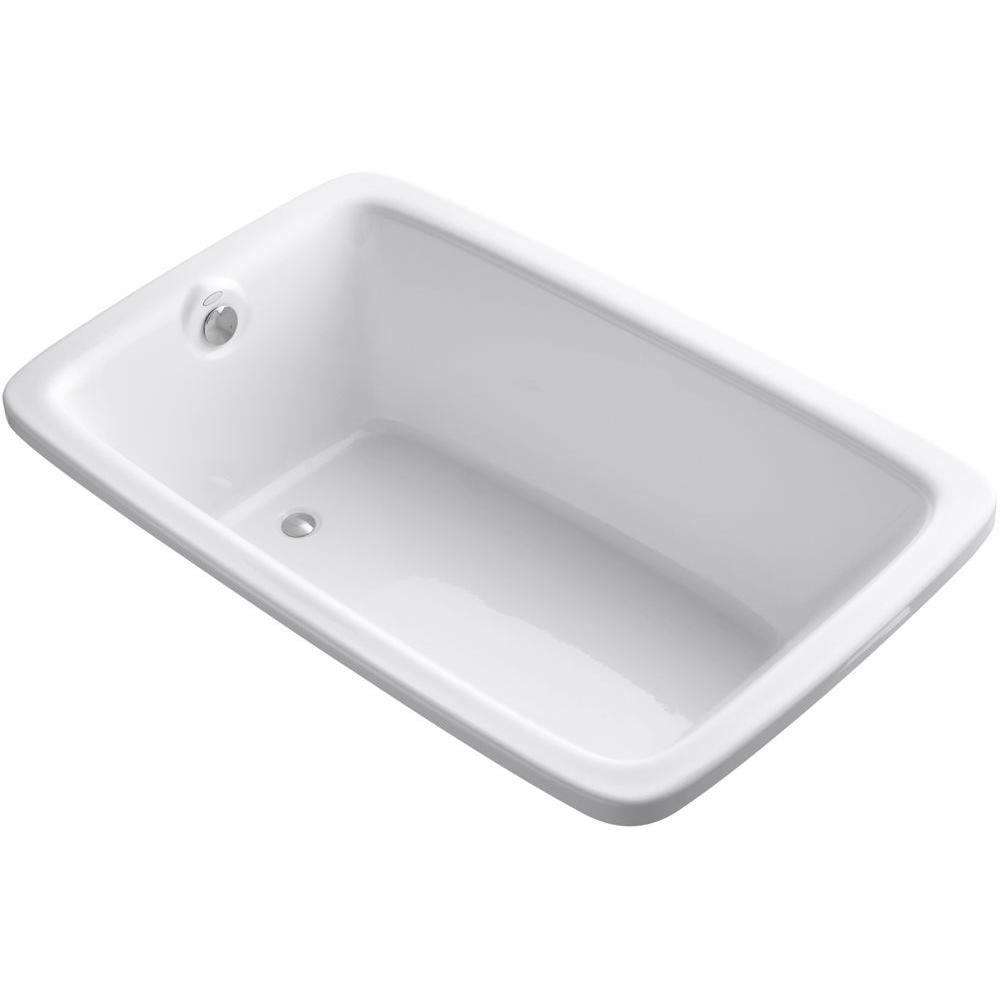 Kohler Bancroft 5 5 Ft Reversible Drain Soaking Tub In