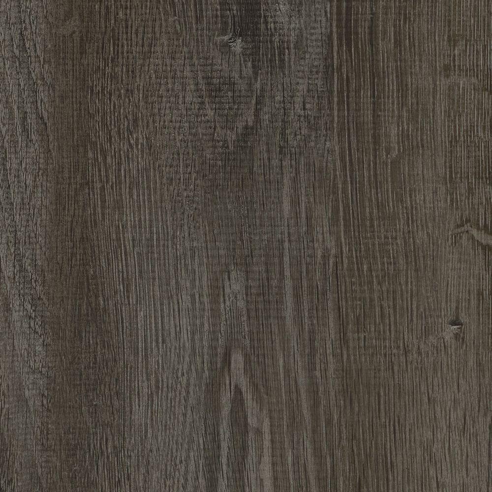 Smoked Oak Grey 8.7 in. x 47.6 in. Luxury Vinyl Plank Flo...