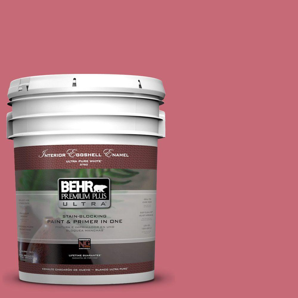 BEHR Premium Plus Ultra 5-gal. #P140-5 Lovebirds Eggshell Enamel Interior Paint