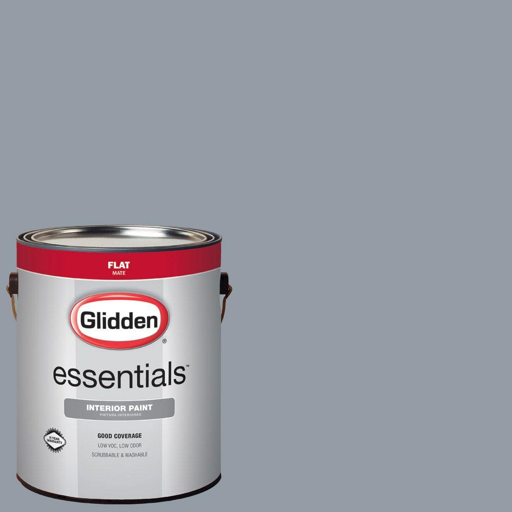 Hdgcn46u Blue Grey Sky Flat Interior Paint