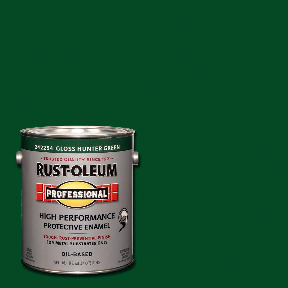 1 gal. High Performance Protective Enamel Gloss Hunter Green Oil-Based