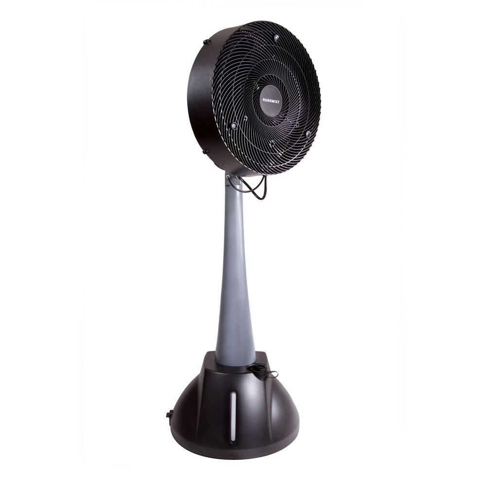 Auramist Milo 18 in. Oscillating DRY Misting Fan