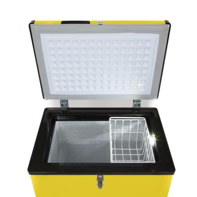 3.18 cu. ft. Portable Refrigerator/Freezer in Limited Edition Yellow