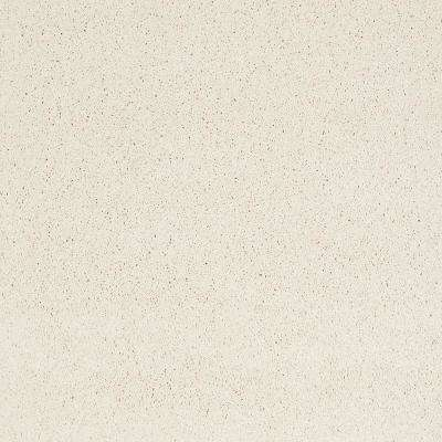 Carpet Sample - Coral Reef II - Color Always Cream Texture 8 in. x 8 in.