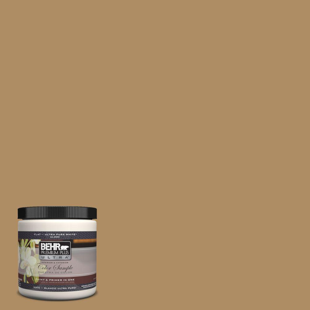 300f 5 Brown Rabbit Matte Interior Exterior Paint And Primer In One Sample