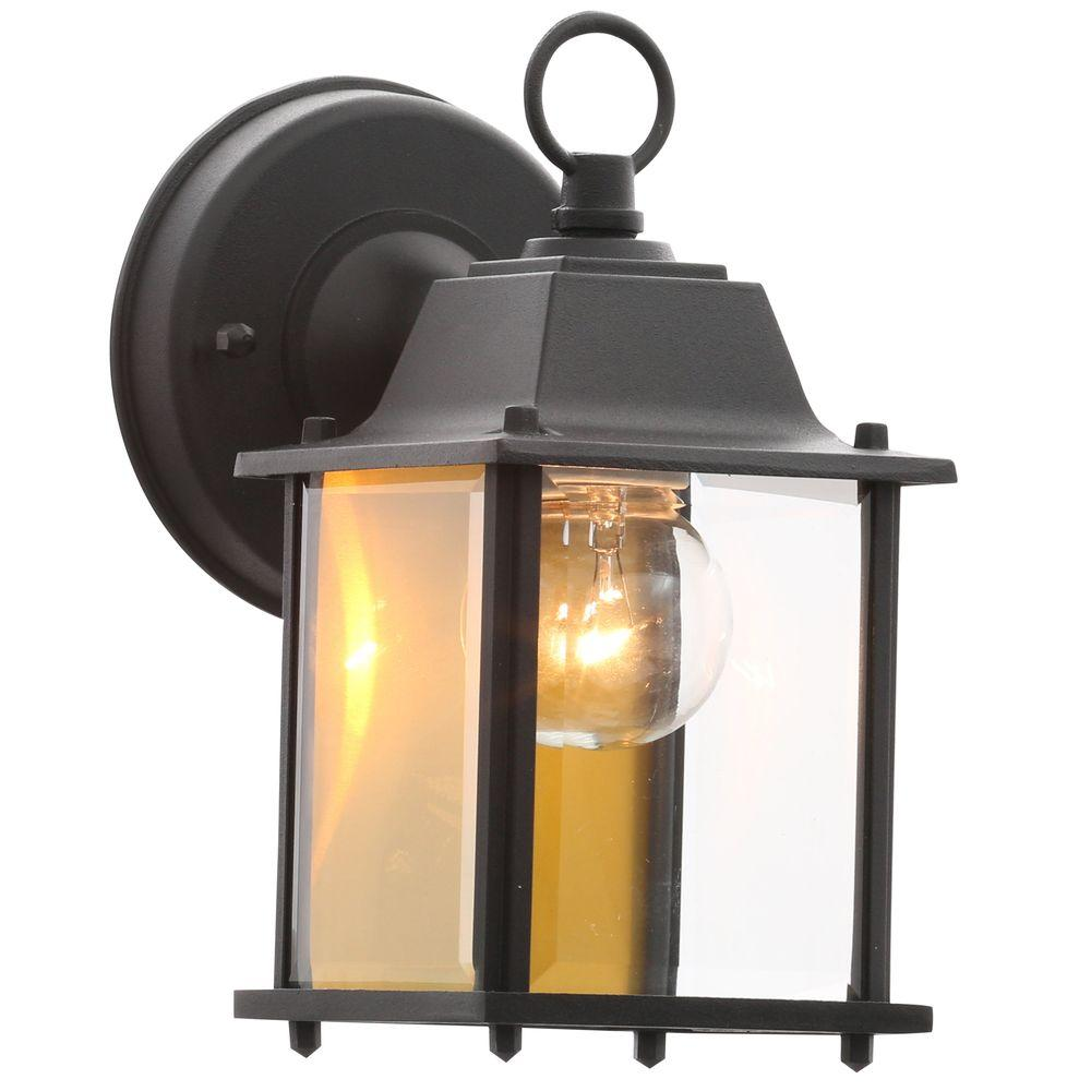 Hampton Bay - Outdoor Wall Mounted Lighting - Outdoor Lighting ...