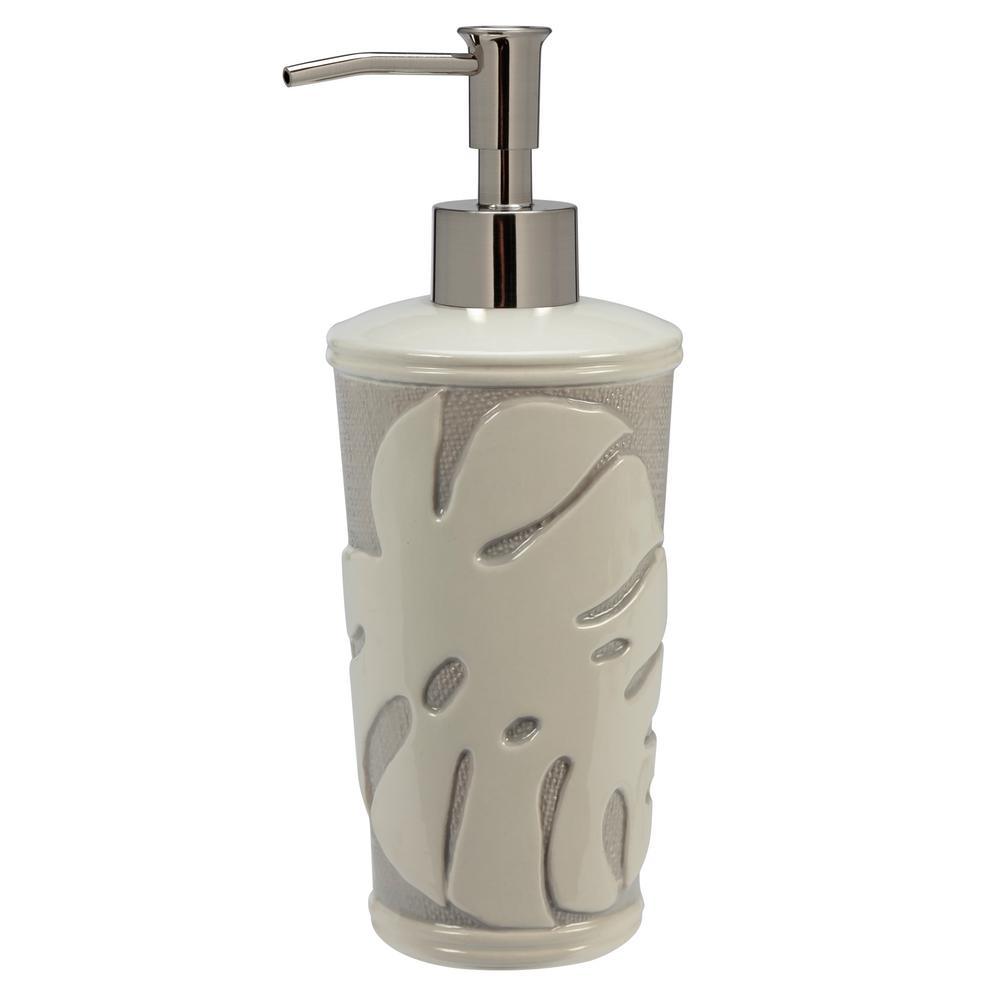 Tropical Leaves Soap Lotion Dispenser