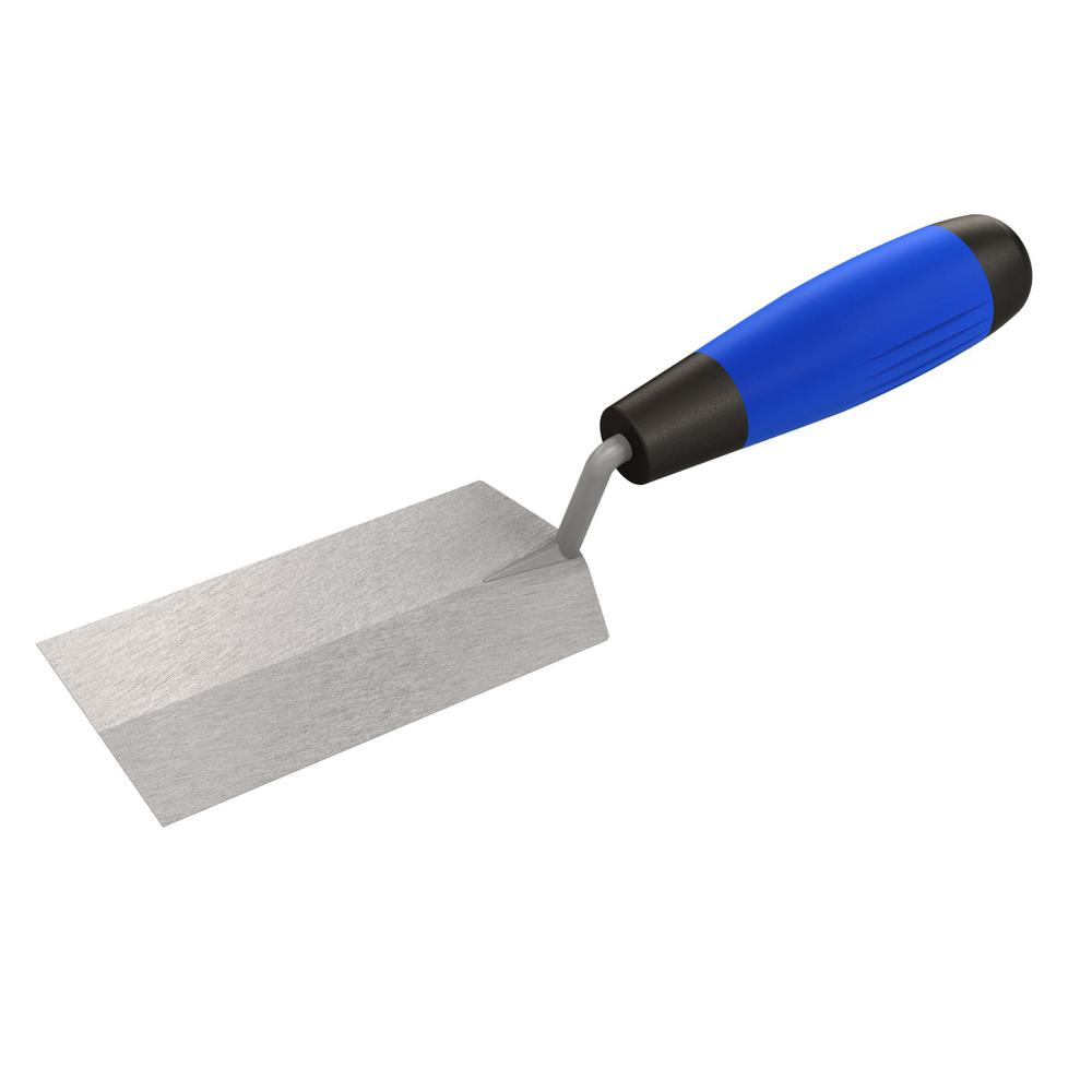 5 in. x 1-1/2 in. Pro Carbon Steel Margin Trowel -