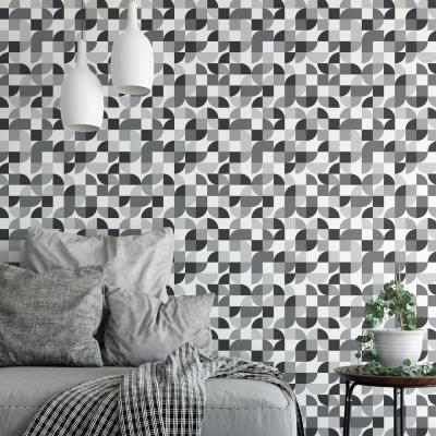 28.29 sq. ft. Mid-Century Geometric Peel and Stick Wallpaper