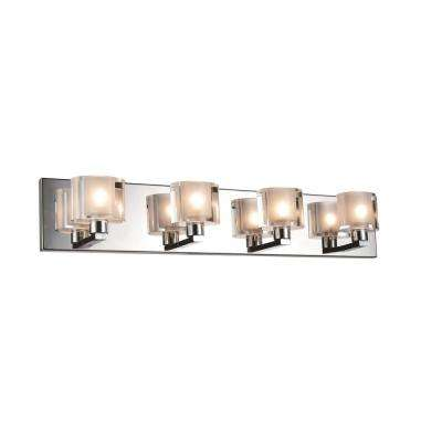 Tina 4-Light Chrome Sconce