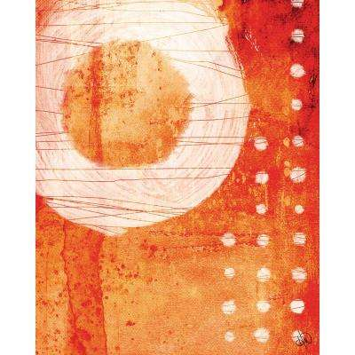20 in. x 24 in. Mild Destruction Abstract Acrylic Wall Art Print