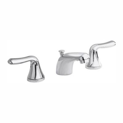 Colony Soft 8 in. Widespread 2-Handle Low-Arc Bathroom Faucet in Polished Chrome