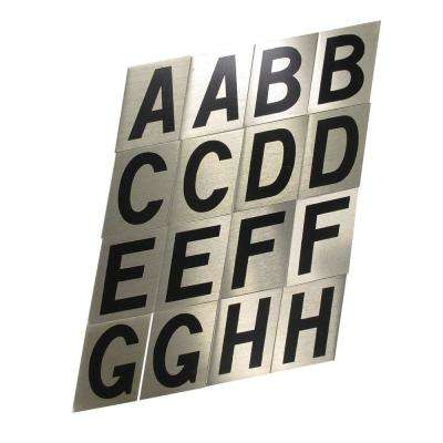 2 in. Aluminum Reflective Letter Set