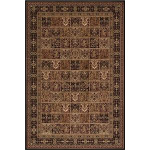 Concord Global Trading Persian Classics Panel Black 2 ft. 7 inch x 5 ft. Accent Rug by Concord Global Trading