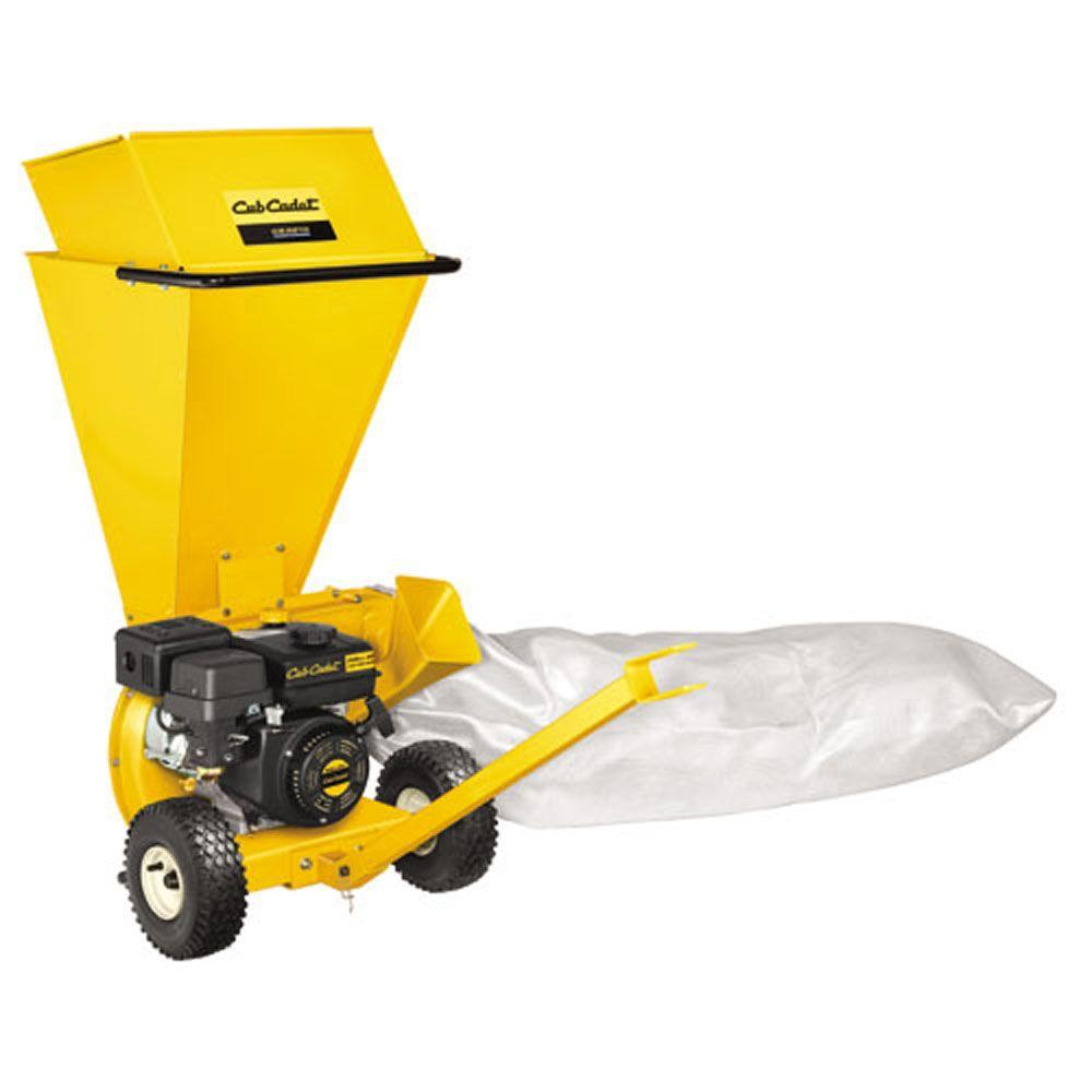2 in. 205cc Upright 2-in-1 Gas Chipper Shredder