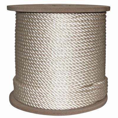 3/8 in. x 600 ft. Twisted Nylon Rope White