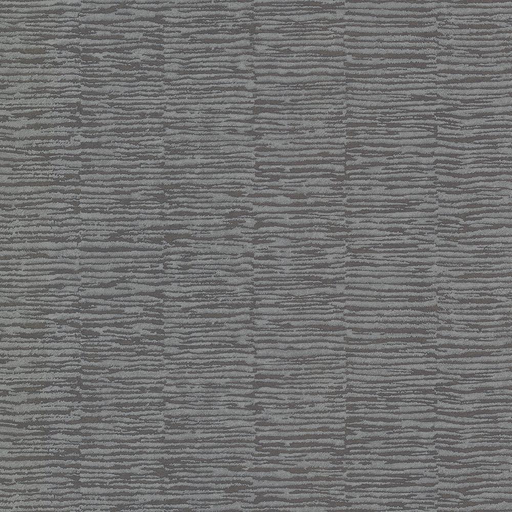 8 in. x 10 in. Goodwin Dark Grey Bark Texture Wallpaper Sample