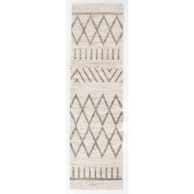 Balta Arman Silver 2 Ft X 7 Ft Runner Rug 3003887 The Home Depot