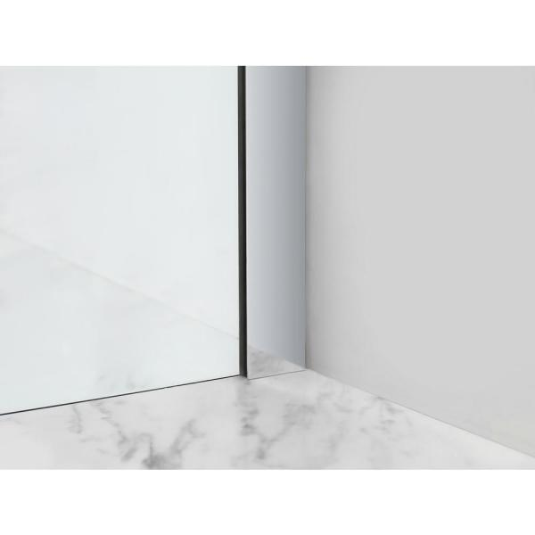Aston Bromley Gs 40 25 To 41 25 X 36 375 X 72 In Frameless Corner Hinged Shower Enclosure W Glass Shelves In Chrome Sen962ez Ch 412736 10 The Home Depot