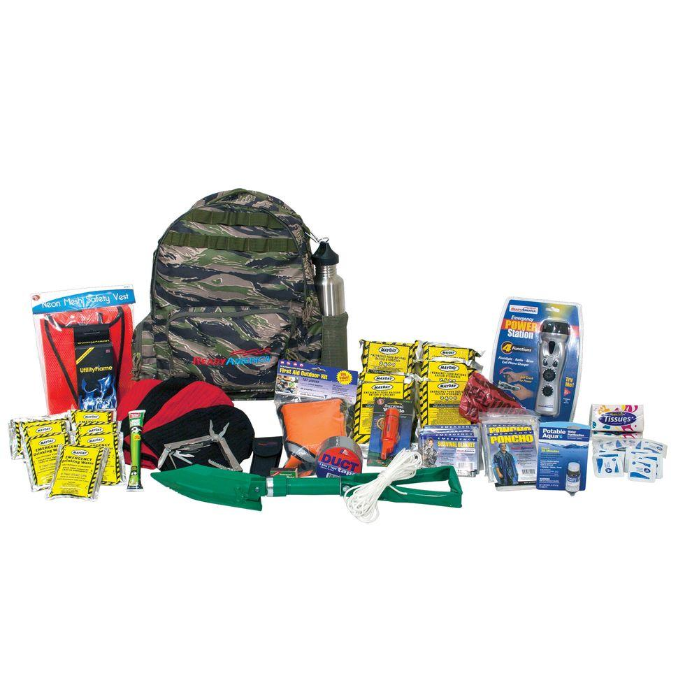 4-Person Deluxe Outdoor Survival Kit