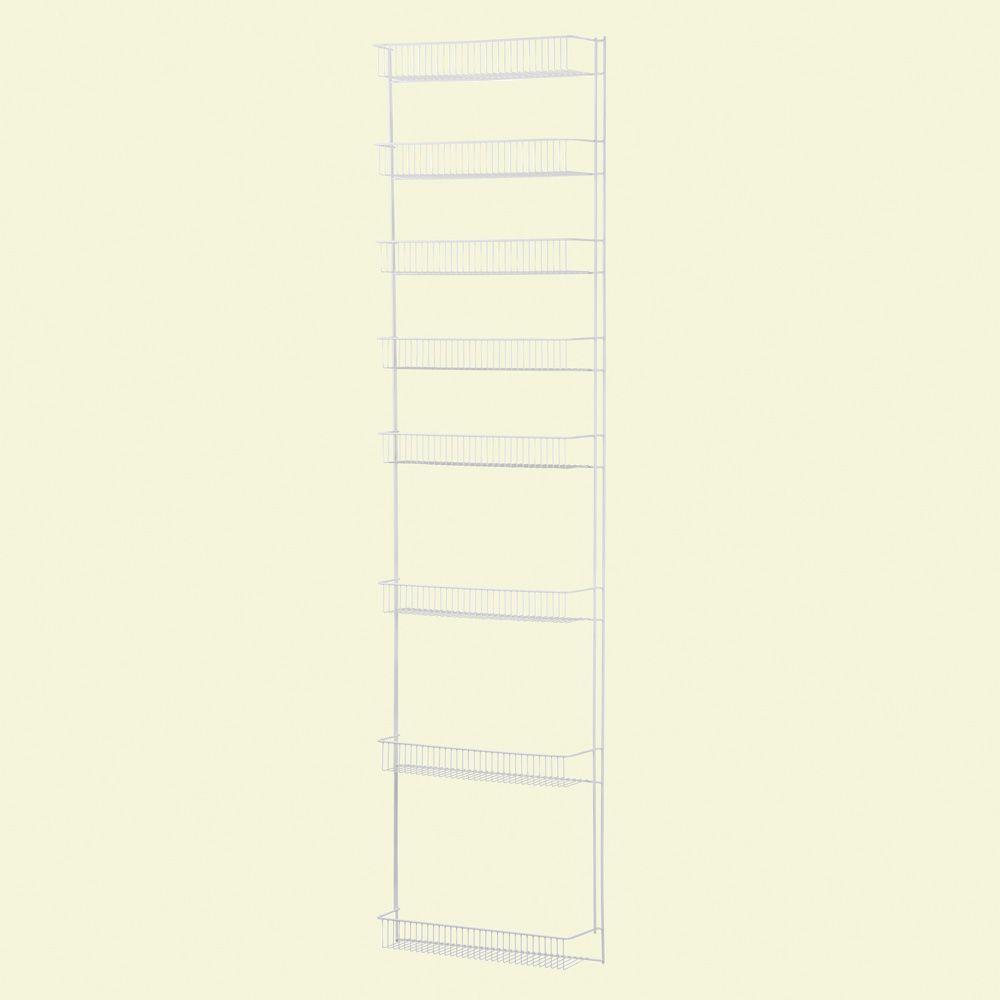 ClosetMaid 72 in. x 18 in. x 4.84 in. 8-Tier Steel Ventilated Storage Rack