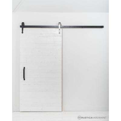 White Rustica Hardware Barn Doors Interior Closet Doors