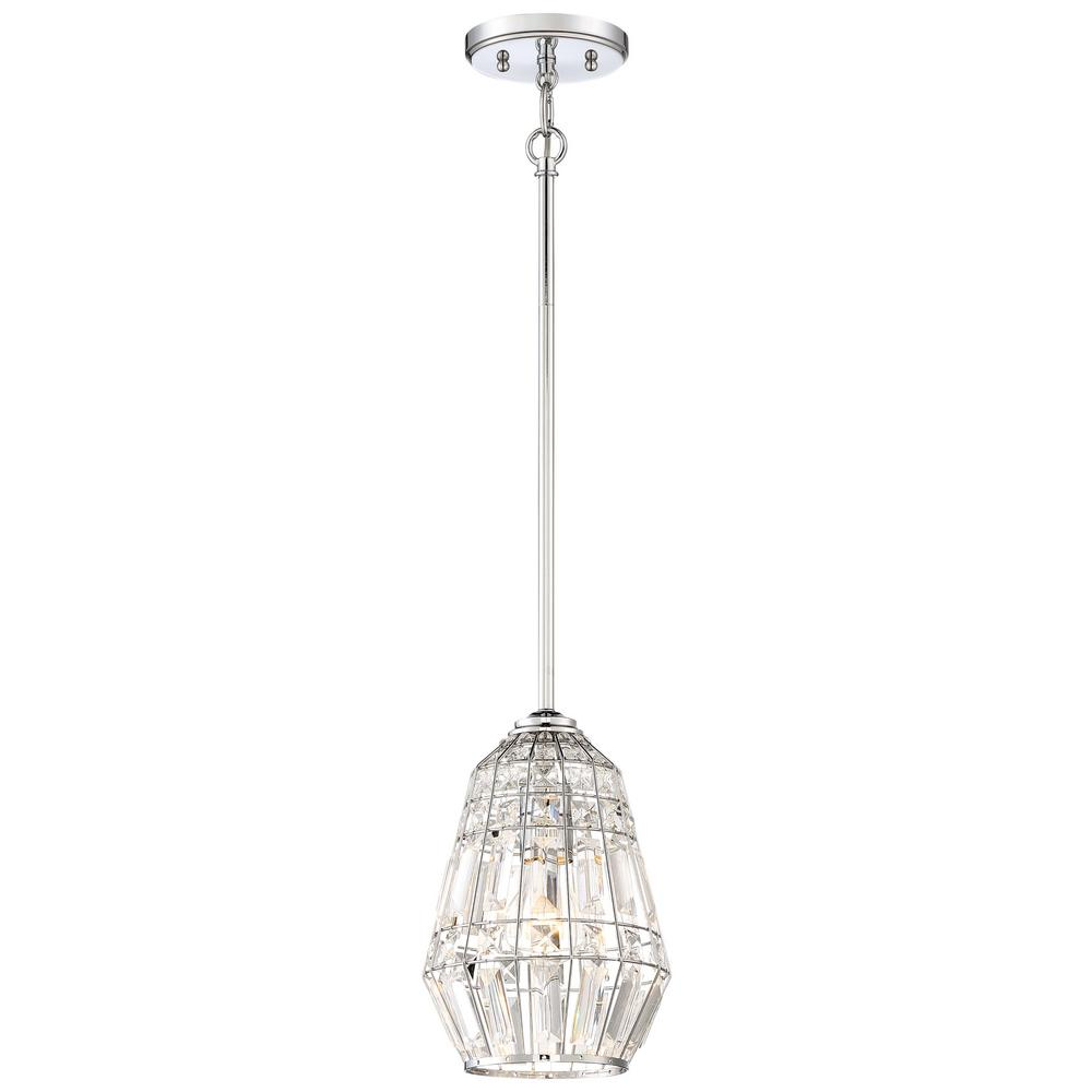 Braiden 1-Light Chrome Mini Pendant