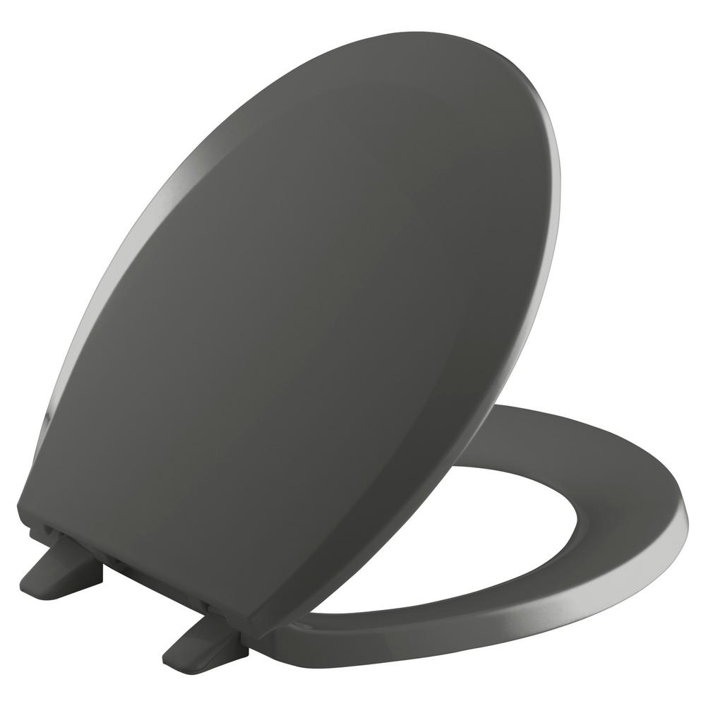 Kohler Lustra Round Closed Front Toilet Seat With Q2