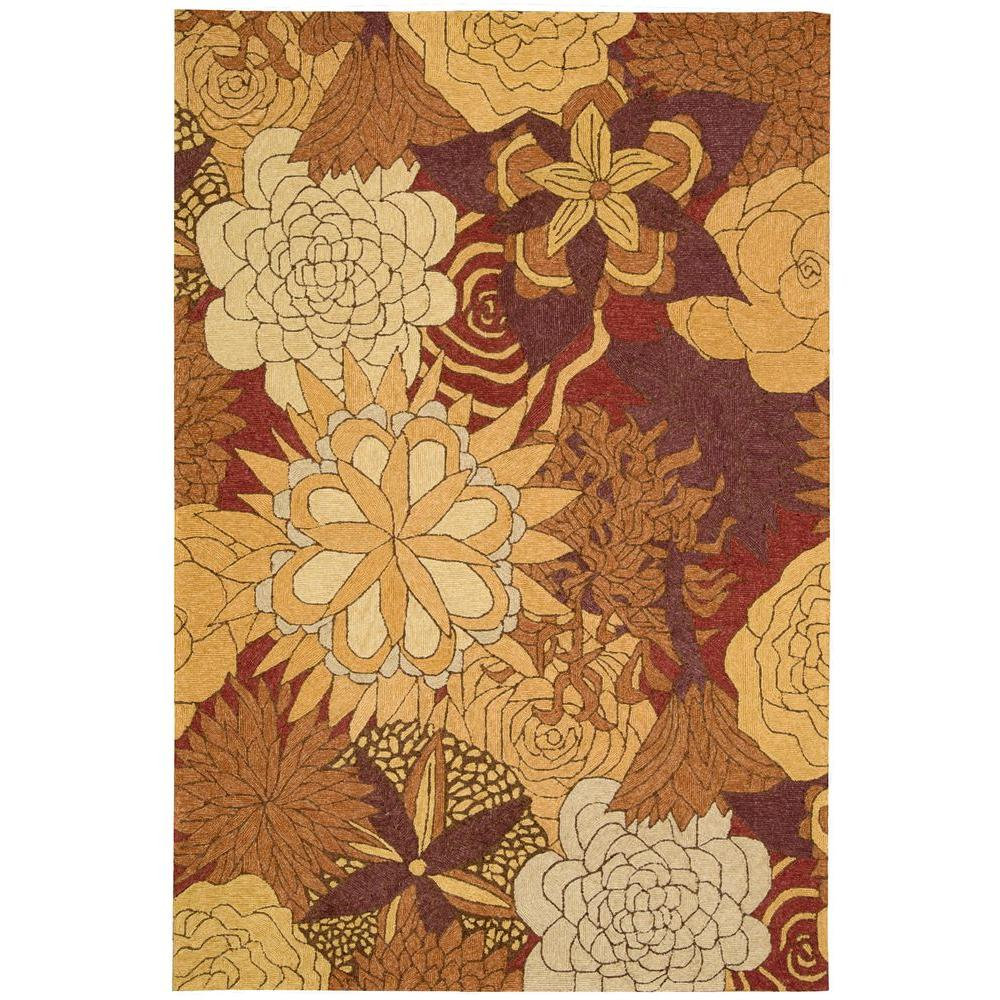 Nourison Overstock South Beach Spice 10 Ft X 13 Ft