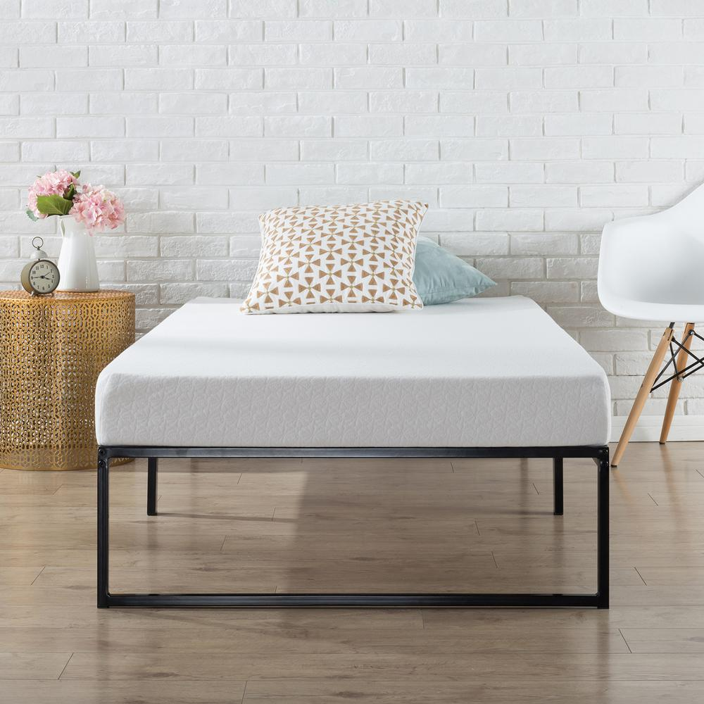 Twin Bed Frame.Zinus Lorelei 12 In Platforma Bed Frame Twin Hd Smpb 12 The Home