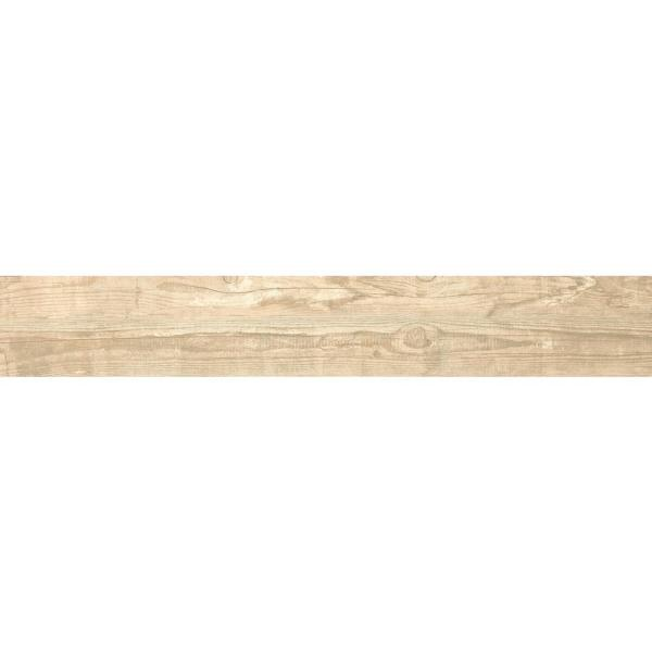 Salvage Honey 6 in. x 40 in. Matte Porcelain Floor and Wall Tile (13.36 sq. ft. / case)