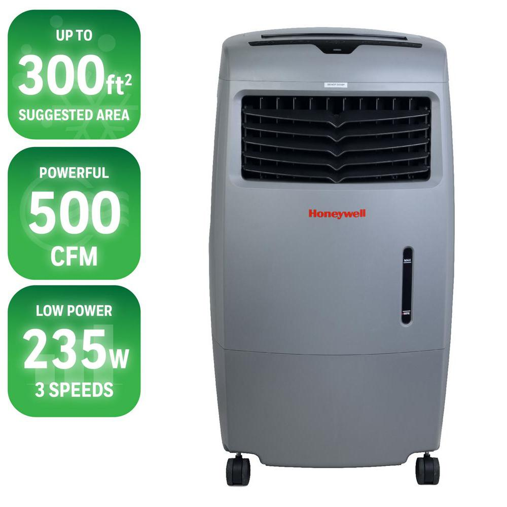 470 CFM 4-Speed Portable Evaporative Cooler for 250 sq. ft.