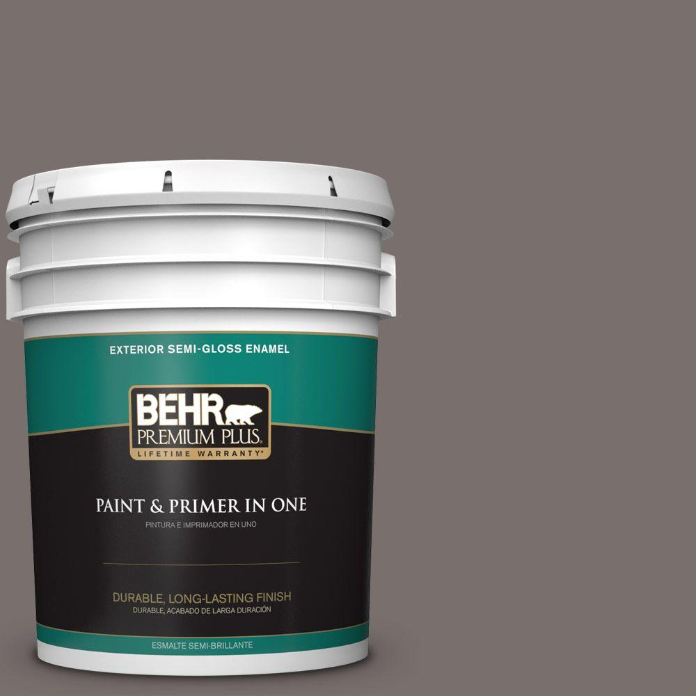 5-gal. #790B-5 Simple Silhouette Semi-Gloss Enamel Exterior Paint