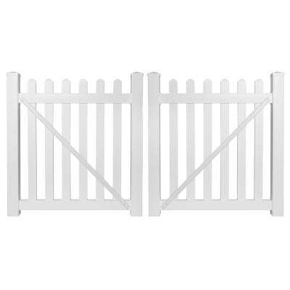 Vinyl Fencing Fencing The Home Depot