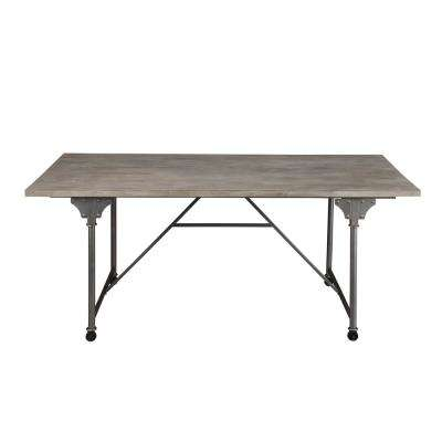 Jonquil Gray Oak and Sandy Gray Dining Table