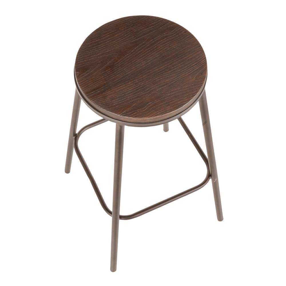 Brilliant Lumisource Clara Industrial Round 30 In Antique Metal And Ibusinesslaw Wood Chair Design Ideas Ibusinesslaworg