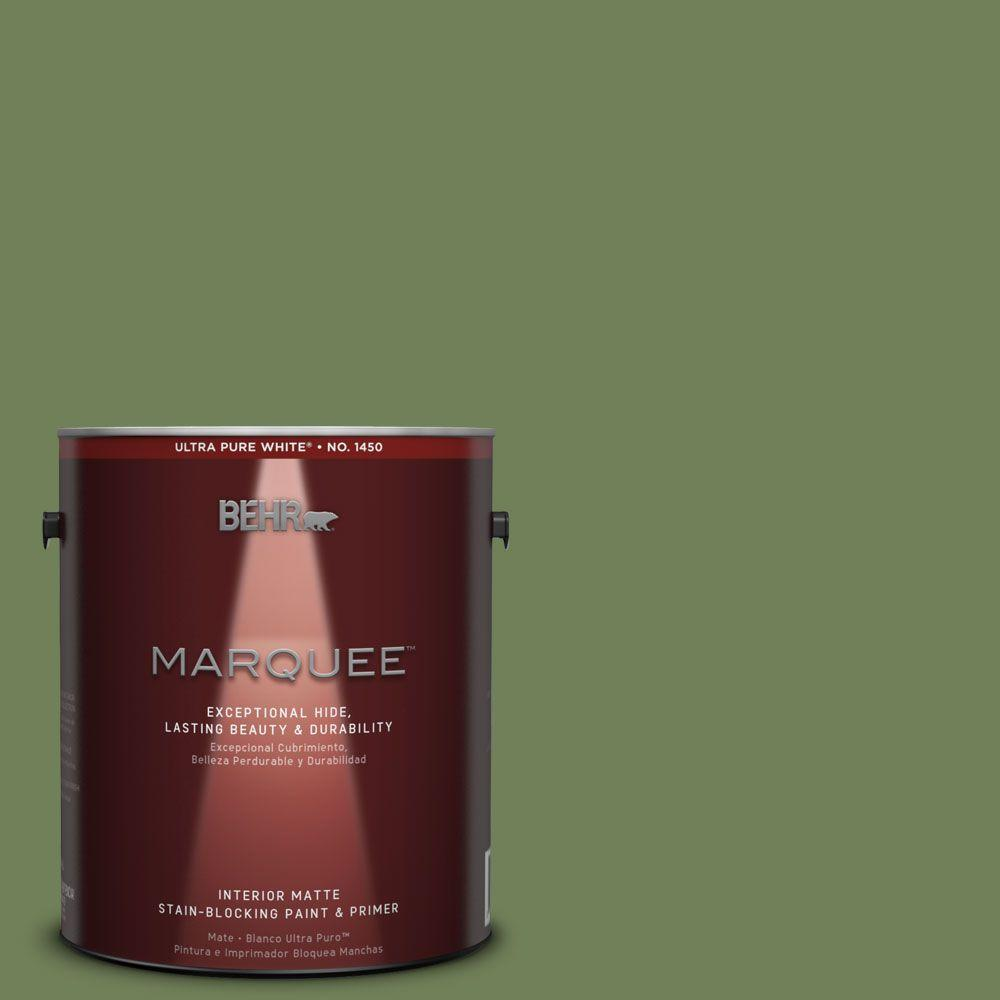 1 gal. #MQ6-47 Terrain One-Coat Hide Matte Interior Paint