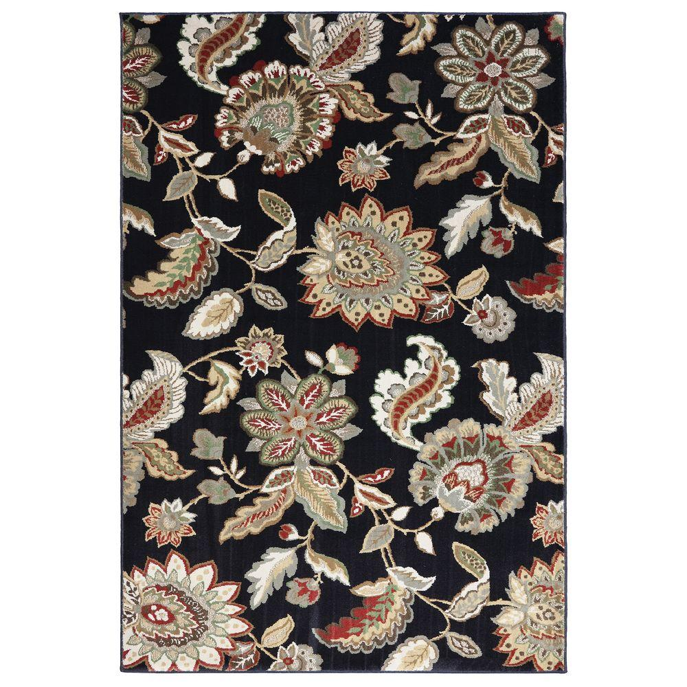 American Rug Craftsmen James Parks Black 8 ft. x 11 ft. Area Rug