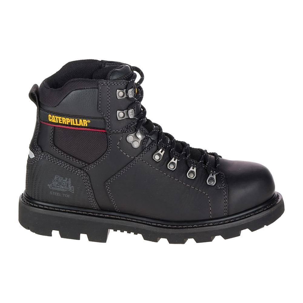 Cat Footwear Mens Alaska 2 Waterproof 6 Work Boots Steel Toe Black Size 11w