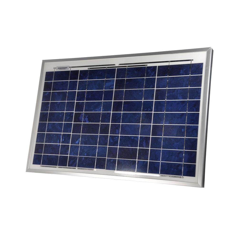 Sunforce 30-Watt Crystalline Solar Panel