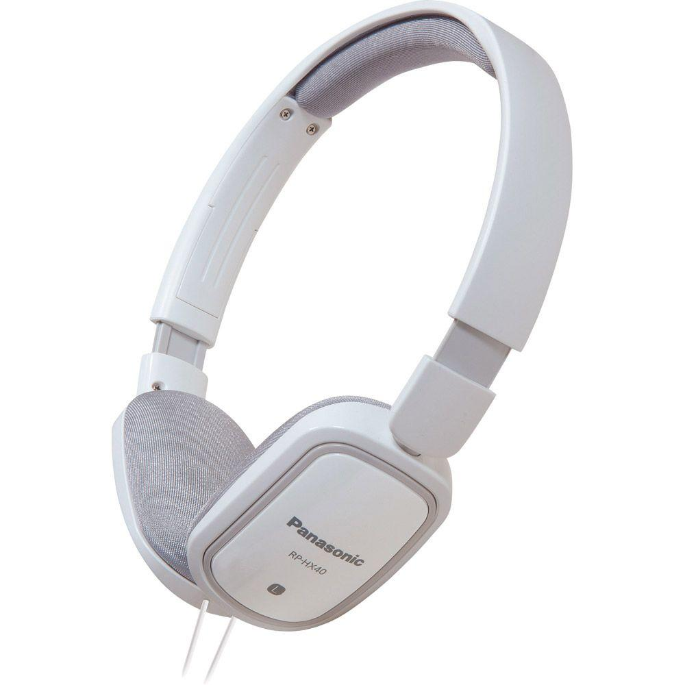 Panasonic Slimz Over-Ear Headphone - White-DISCONTINUED