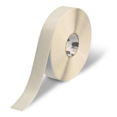 2 in. Safety Floor Tape in White 100 ft. Roll