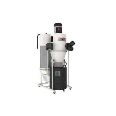 JCDC-1.5 1.5HP 115-Volt Cyclone Dust Collector