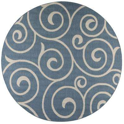Round Outdoor Rugs Rugs The Home Depot