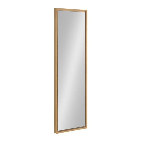 Large Rectangle Natural Modern Mirror (48 in. H x 16 in. W)