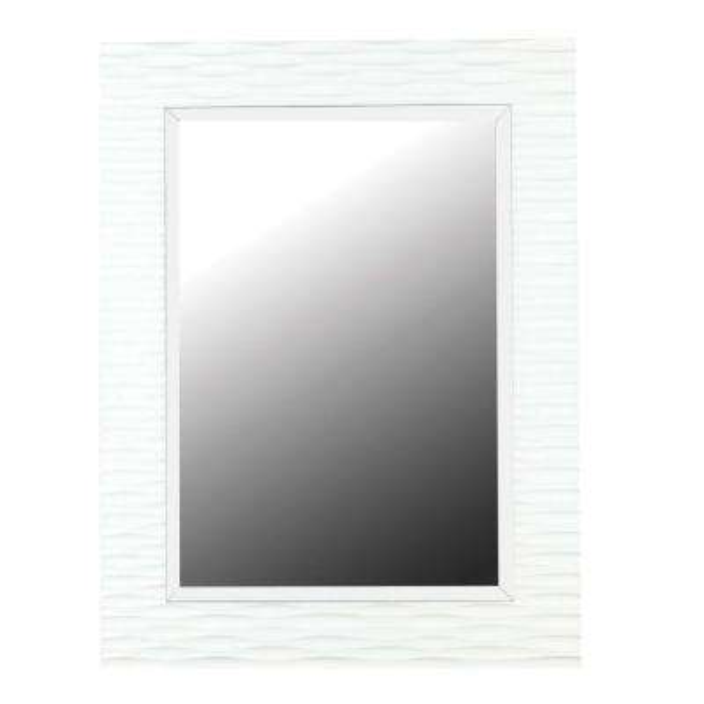 Kendrick 39 in. x 30 in. Polyurethane Framed Mirror