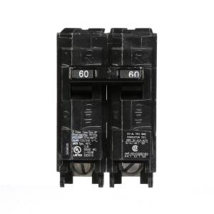 Eaton 60 amp 2 in double pole type br replacement circuit breaker 60 amp double pole type qp circuit breaker greentooth Gallery