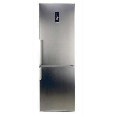 10.8 cu. ft. Tall Bottom Mount Frost Free Refrigerator in Stainless Steel with LED Touch Control Panel