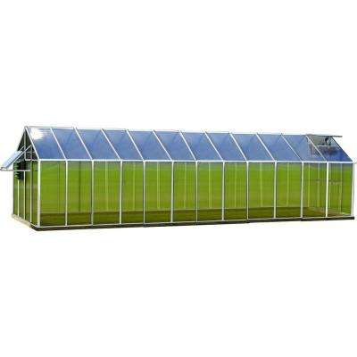 8 ft. x 24 ft. Aluminum Mojave Greenhouse